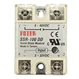 #3: Generic SSR-100 DD Solid State Module Solid-state Relay DC-DC 100A 3-32V DC/5-60V DC One piece