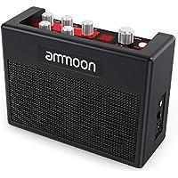 ammoon Guitarra Amplificador POCKAMP Portátil Amp 5 Vatios Incorporado Multi-efectos 80 Ritmos de Batería Sintonizador de Soporte Funciones Tap Tempo con Entrada Auxiliar Salida Auriculares