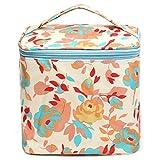 Bluelover Boîte De Maquillage Colorée Sac À Glissière Beauté Cosmétiques Outils De Rangement Support Organisateur Case # 01