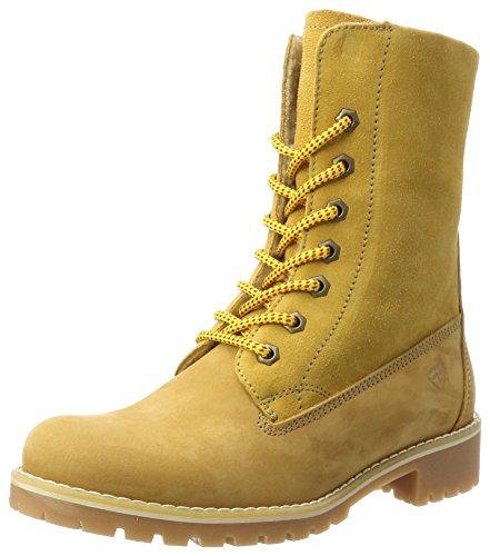 Tamaris Damen 26443 Combat Boots, Gelb (Corn), 39 EU