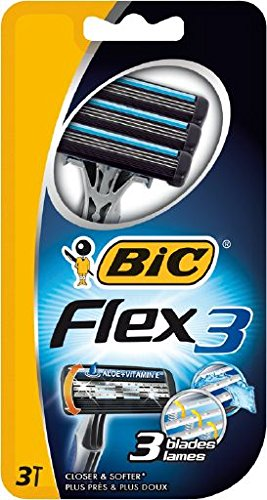 BIC Flex 3 Men's Razor - Pack of 3
