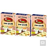 #1: my Food rava idli-230 gm Pack of 3