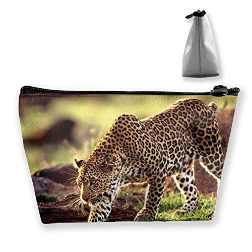 Leopard Gepard Muster Trapez Aufbewahrungstasche Make-up Tasche Pouch Tasche Federmäppchen Mode Handtasche - Tasche Daisy Make-up Duck