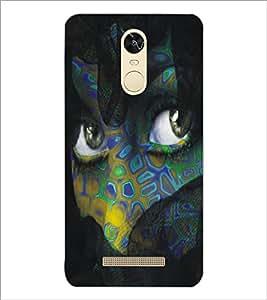 PrintDhaba Daring Eyes D-5446 Back Case Cover for XIAOMI REDMI NOTE 3 (MEDIA TEK) (Multi-Coloured)