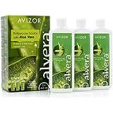 Avizor Alvera multiuso solution con Aloe Vera 3X 240ml y 3casos