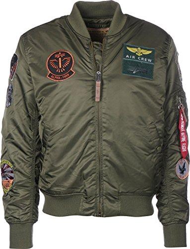 Alpha Industries MA-1 Pilot Jacke dark green