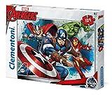 Clementoni 27973.9 - Puzzle The Avengers - Angriff der Superhelden 104 Teile