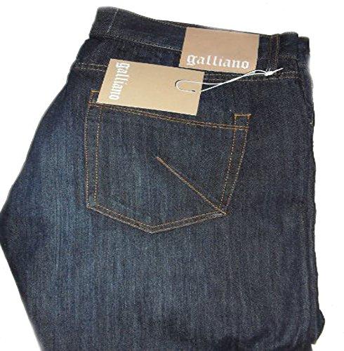 john-galliano-mens-blue-jeanssize-eu31-waist-32-inside-leg-35-new-tags-rrp-179