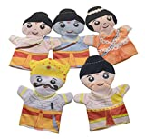 #7: Cuddly Toys Ramayana Storytelling Hand Puppets Set of 5