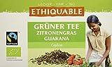 ETHIQUABLE Grüner Tee Zitronengras Guarana, bio, 36g, Beutel, Fairtrade