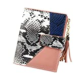 Portefeuille Marque Femme - OSYARD - Femme Filles Portefeuille Porte-Cartes Porte-Monnaie à glissière avec Tassel Pendentif