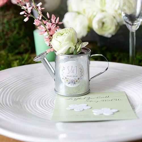Gießkännchen 12 Stk. Gießkanne Vase - Hochzeitsgeschenk Gastgeschenk Tischdekoration - wds.8411