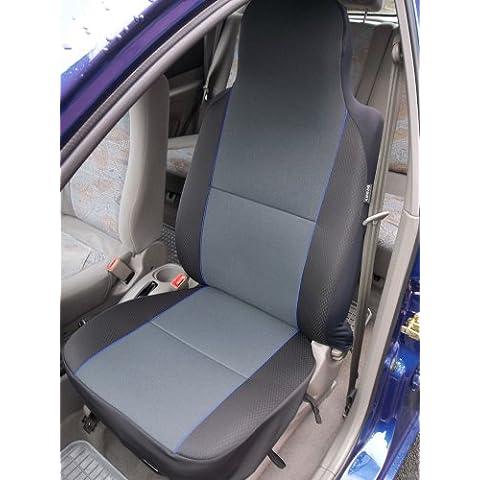 Suzuki SX4/Splash Grigio Antracite con Bordo Blu–2coprisedili anteriori