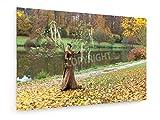 Achim Prill - Herbstlandschaft - 30x20 cm - Leinwandbild auf Keilrahmen - Wand-Bild - Kunst, Gemälde, Foto, Bild auf Leinwand - Künstler