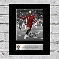 Cristiano Ronaldo - Foto firmada de Portugal