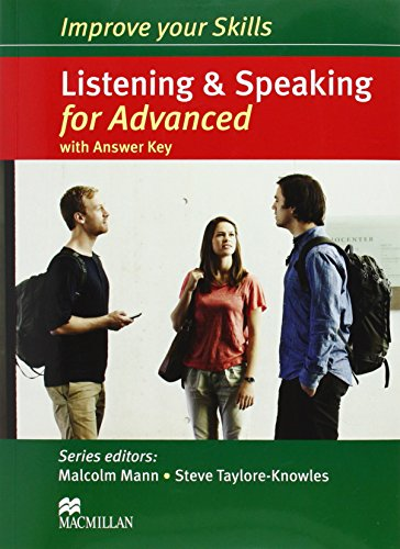 Improve Your Skills: Listening & Speaking for Advanced Student's Book with Key Pack (Cae Skills) por Malcolm Mann