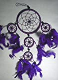 PURPLE DREAM CATCHER / DREAMCATCHER BEAUTIFUL ITEM OTHER COLOURS ARE AVAILABLE