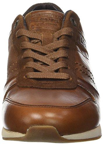 Levi's Bristol, Baskets Basses Homme Marron (Medium brown)