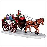 LEMAX carrozza di Babbo Natale - Santa's wagon ride Cod. 33032