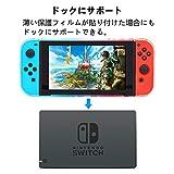 Displayschutzfolie für Nintendo Schalter–Blasenfrei Folie, Anti-Fingerprint 0,125mm–4PCS