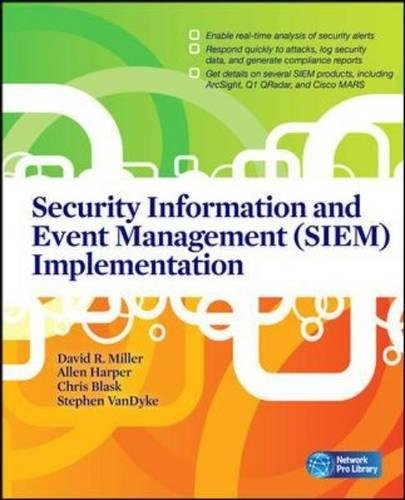 Network Control (Security Information and Event Management (SIEM) Implementation (Network Pro Library))