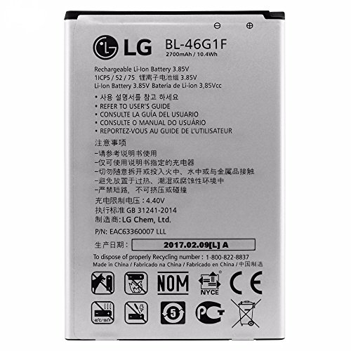 Original LG BL 46g1F batería 2800mAh LG K102017