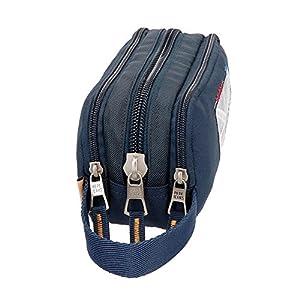 516H7bm6P7L. SS300  - Pepe-Jeans-Scarf-Neceser-de-Viaje-22-cm-198-Litros-Azul