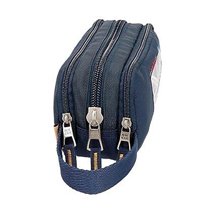 516H7bm6P7L. SS416  - Pepe Jeans Scarf Neceser de Viaje, 22 cm, 1.98 Litros, Azul