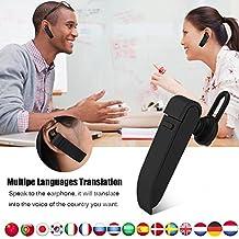 Fosa Traductor Inteligente Bluetooth 4,1 Portátil, Auricular Inalámbrico Verdadero TWS, Traducción a
