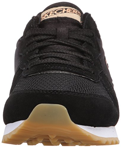 Skechers OG 85 GoldN Gurl, Sneakers basses femme noir (BLK)