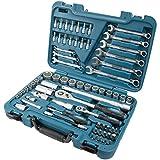 HYUNDAI Werkzeugset K70 (70-teiliger Werkzeugkasten aus Cr-V-Stahl, 72-Zahn Umschaltknarren, SUPER LOCK Steckschlüsseln, Werkzeugkoffer, Steckschlüsselsatz, Profiwerkzeug, Ratschenset,...