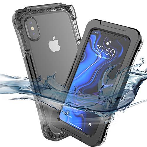 1ba71721dba Underwater Housing for iPhone XS MAX Waterproof, Grade IP68 Cell Phone  Cases Swimming Underwater Photo