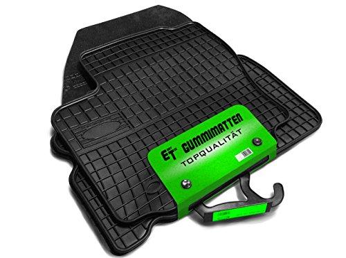 Gummimatten / Fußmatten von Eight Tec passgenau ET_GUMMI_CZ38119PL0422 2012 Hyundai Elantra Fußmatten