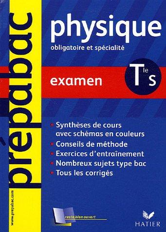 Physique Tle S : Examen