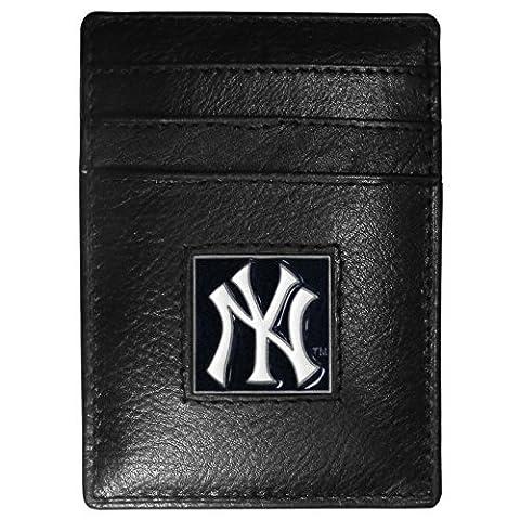 New York Yankees Leather Money Clip/Cardholder by Siskiyou