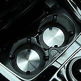 Para Mercedes Benz A/B/C/E/CLA/GLA/GLC/GL Class W204 W205 W212 W213Universal accesorios AMG coche estilo copa Holder Mat 2016