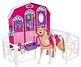 Barbie Mattel Y7554 Schwestern im Pferdeglück, Pferd und Stall Spielset