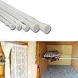 Ventana 30-50 cm extensible telesc—pica Polo Cortina de ducha barra de la cortina
