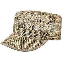 Lipodo Cappellino Army di Paglia Donna Uomo  7dfb3d57cbe2