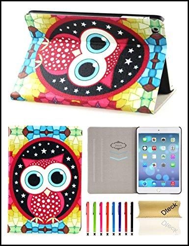 Dteck T4823-DK-1754 Tablet-Schutzhülle, Apple iPad Mini 3 Retina Display 7.9 Inch Tablet Apple iPad Mini 2 Retina Display 7.9 Inch Tablet Apple iPad Mini, DC_Little Cute Owl, Stück: 1 -