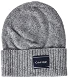 Calvin Klein Neps Beanie Cuffia Uomo, Grigio (Mid Grey Heather B38-Vol39 013), Taglia Unica