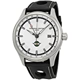 Frederique Constant Healey FC-350HS5B6 42mm Automatic Stainless Steel Case Black Calfskin Anti-Reflective Sapphire Men's Watch