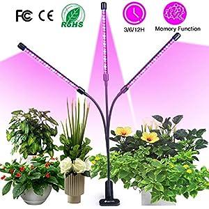 semai Pflanzenlampe LED 30W Pflanzenlicht Pflanzenleuchte Wachstumslampe Wachsen licht Grow Lampe Vollspektrum für…