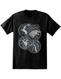 Game of Thrones House Symbols Adult T-Shirt