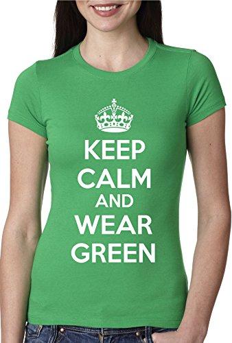 crazy-dog-tshirts-womens-keep-calm-and-wear-green-t-shirt-girls-st-patricks-day-shirt-green-xxl-cami