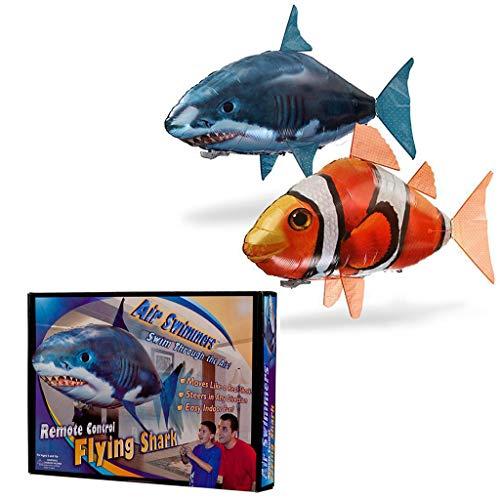 pielzeug mit Fernbedienung für Flying Fish Shark, aufblasbare Kugel, Neues aufblasbares Spielzeug ()