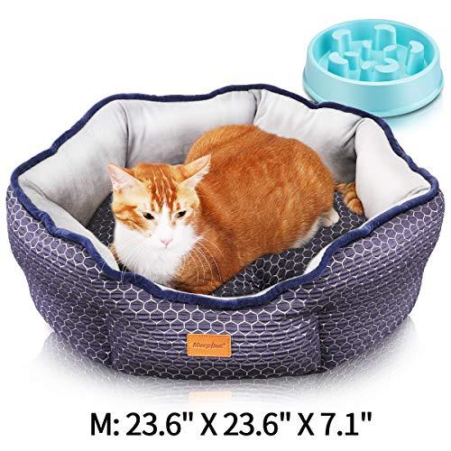 Cama para mascotas + Comedero de ralentización por sólo 14,11€ con el #código: UEUGZHBX