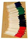 Coloured Food Picks - 7cm x 100 - GOTO
