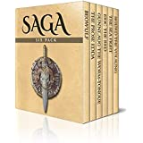 Saga Six Pack – Beowulf, The Prose Edda, Gunnlaug The Worm-Tongue, Eric The Red, The Sea Fight and Sigurd The Volsung (Illustrated) (English Edition)