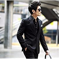 Et Élégant Costume Petite Costumes Loisirs Men'S Petit Mâle Noir Mâle @ (Costume Blazer